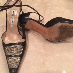 Manolo Blahnik Shoes - AUTHENTIC MANOLO BLAHNIK